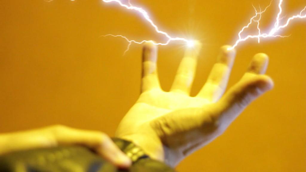 TIMER: rayos en dedos