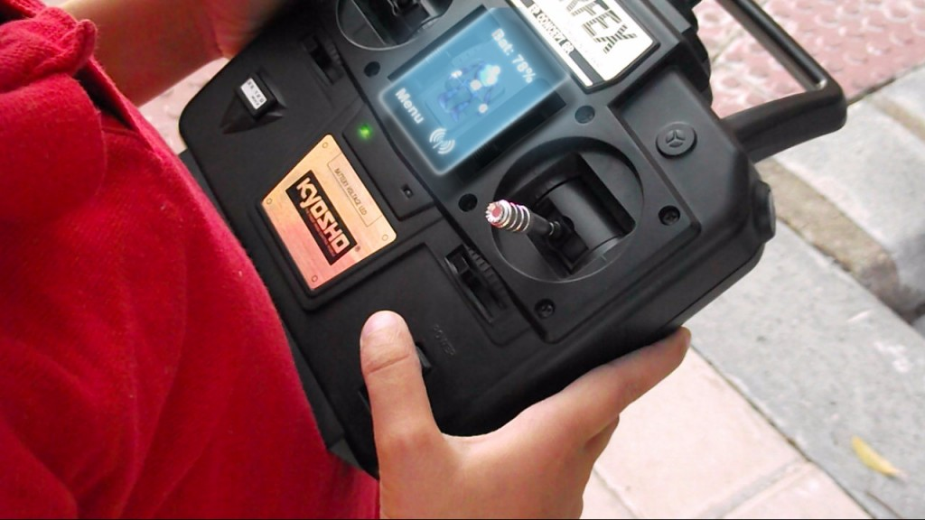 RBOT - HUD radiocontrol