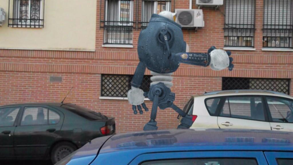 RBOT- robot corriendo