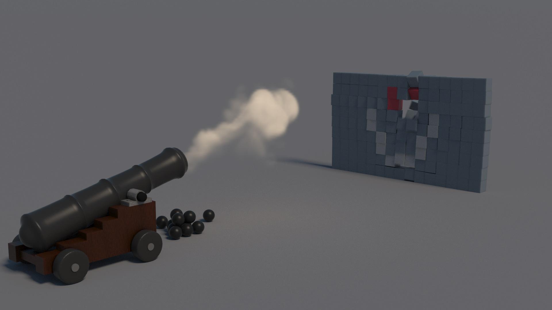 MassFX: objetos cinemáticos