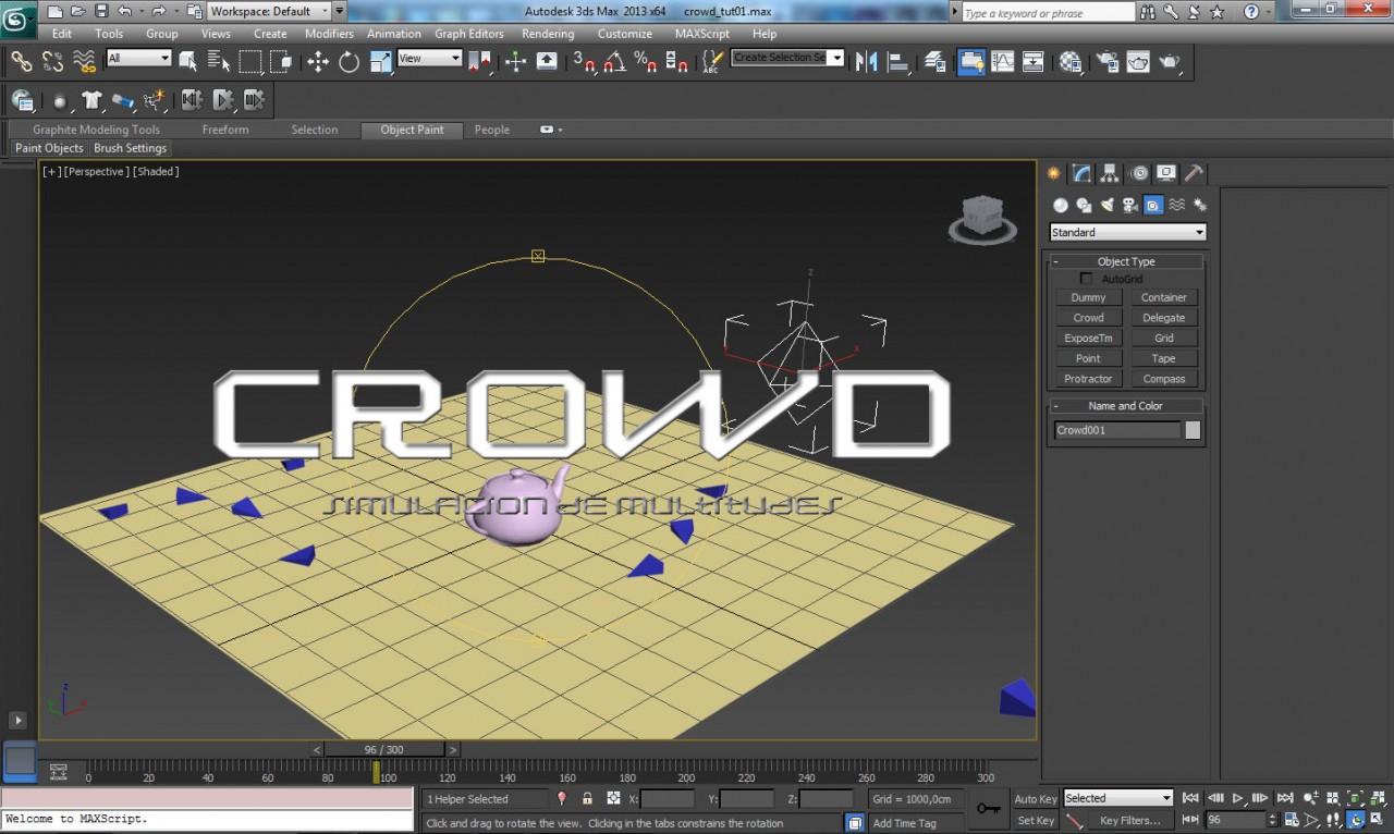 CROWD – Simulacion de multitudes